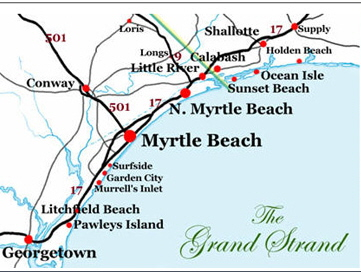 Myrtle Beach For Great People Watching Material And Access To Numerous Side Attractions Consider Walking The Boardwalk Which Parallels Ocean