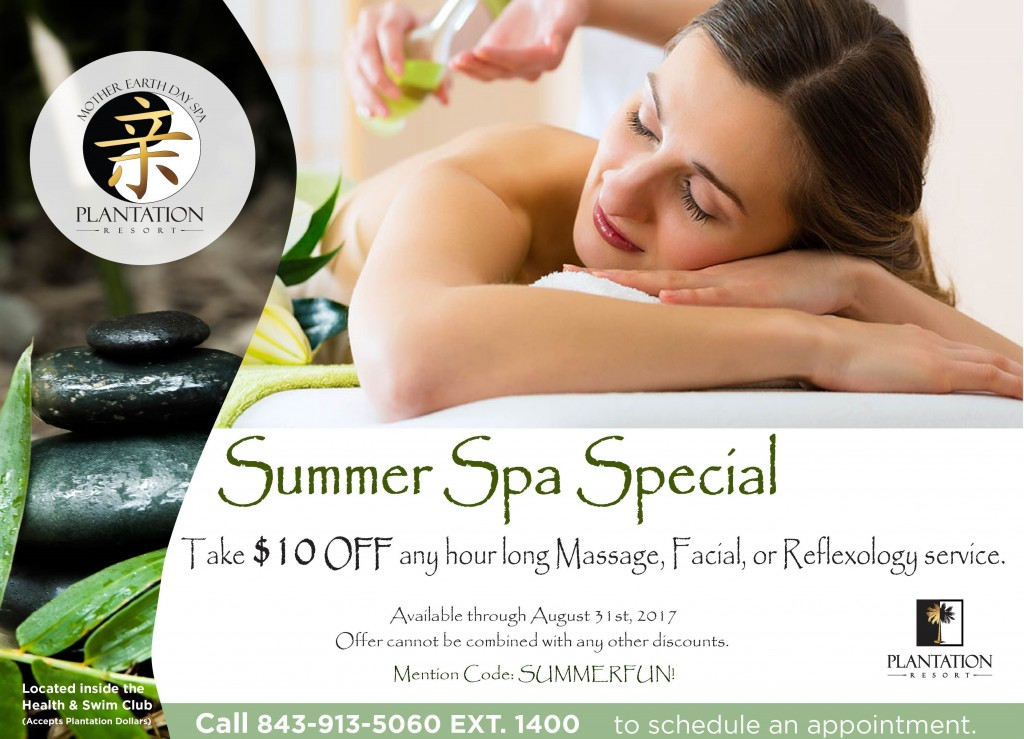 Mother Earth Day Spa Summer Special2