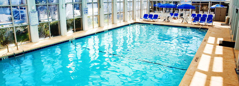 Plantation Resort's Indoor Pool - FAQ - Our Answers to your most frequently asked Questions about your Plantation Resort vacation in Myrtle Beach, S.C..
