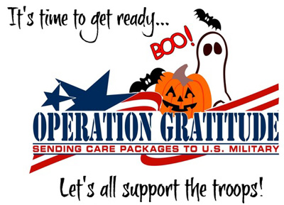 Operation-Candy-Buy-Back - a great use for your extra Halloween candy