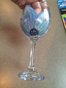 Myrtle Beach Women's Weekend - Wine Glass Painting at Plantation Resort