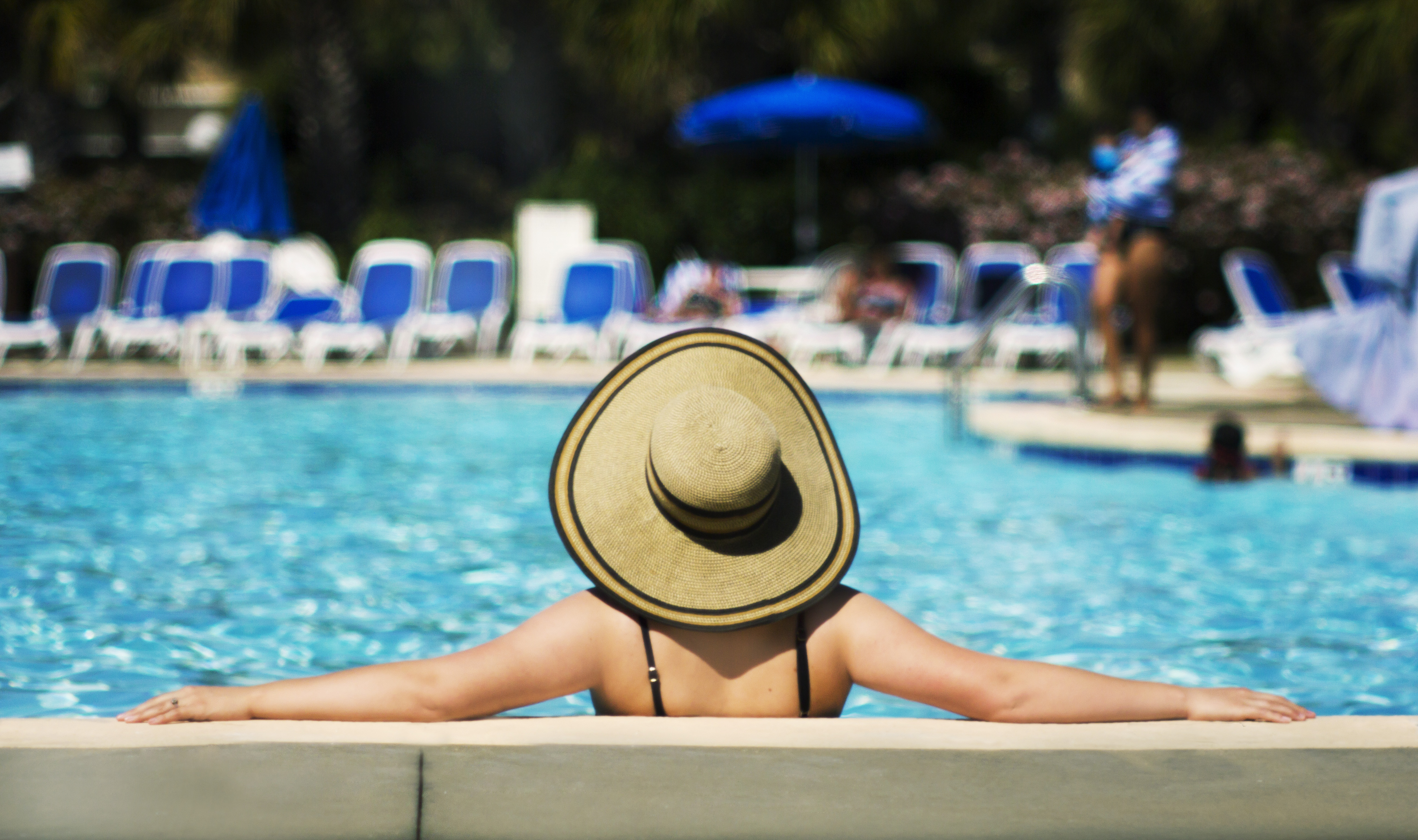 Celebrate Stress Awareness Month with a Relaxing Vacation at Plantation Resort's Outdoor Pool in Myrtle Beach