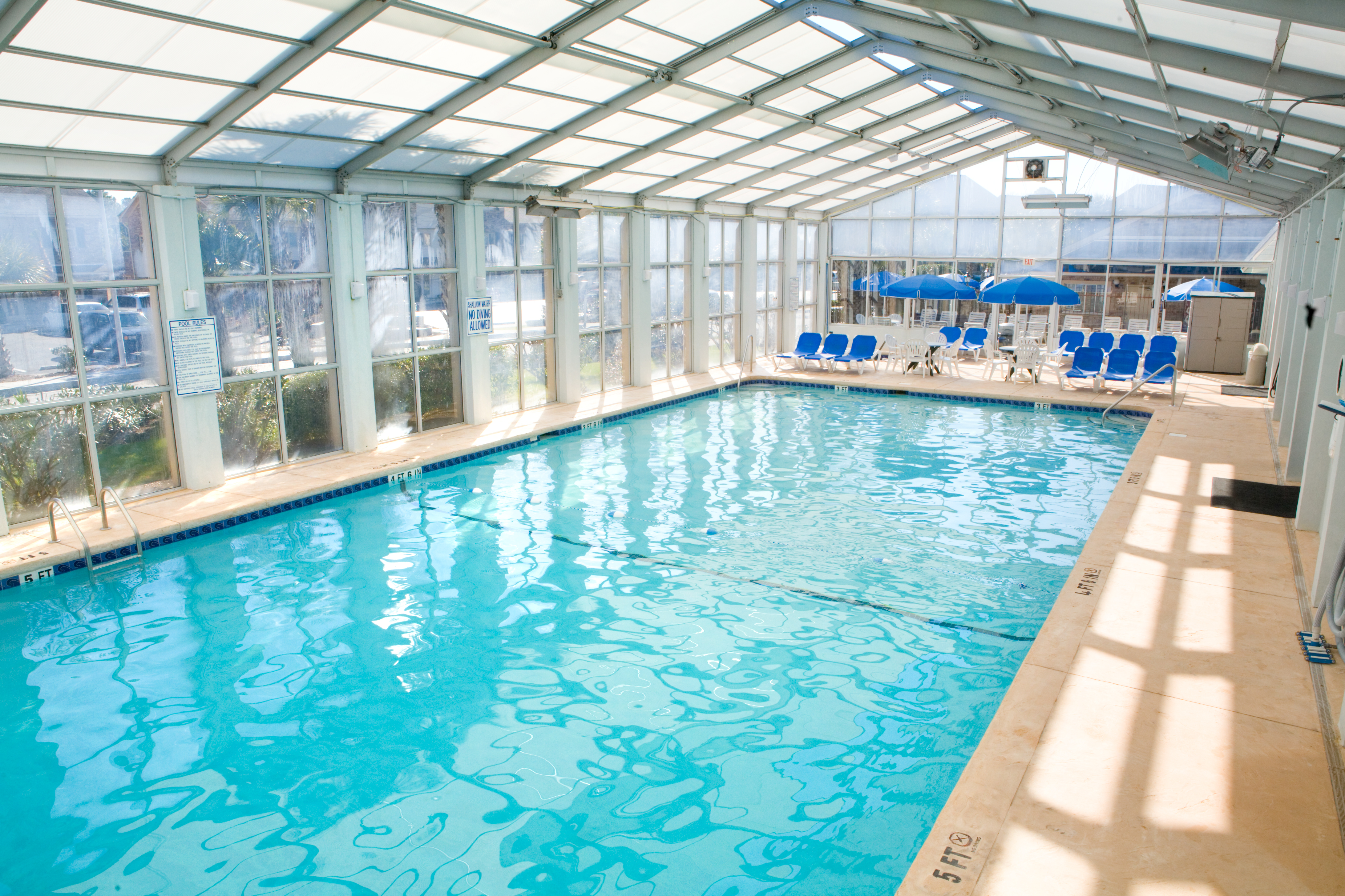 Take a Dip at the Plantation Resort's Indoor Pool during your Myrtle Beach Vacation!