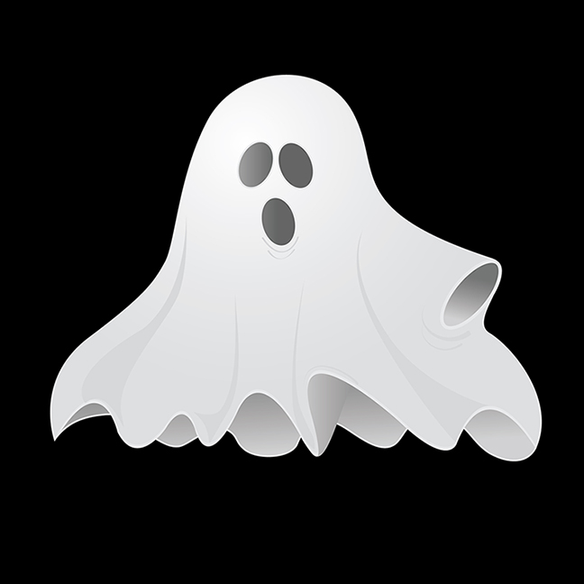 last minute Halloween costume: Ghost costume for your Vacation at Plantation Resort in Myrtle Beach