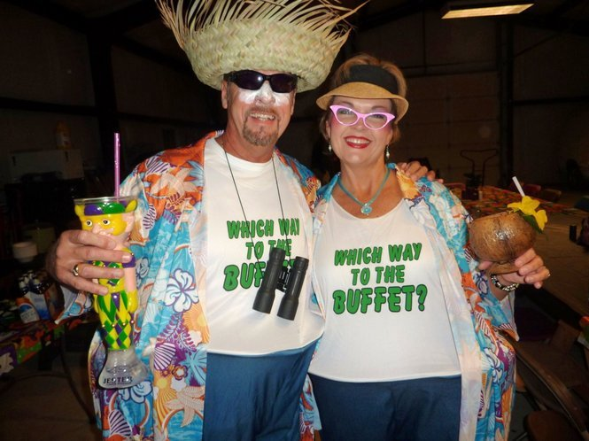 last minute Halloween costume: Tourist costume for your Vacation at Plantation Resort in Myrtle Beach