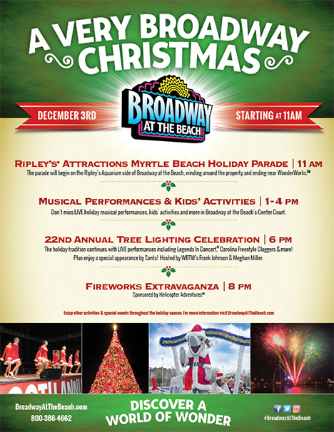 Enjoy these holiday events with a vacation at Plantation Resort in Myrtle Beach