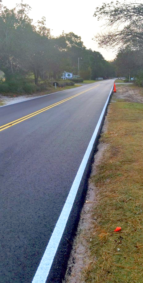 Enjoy newly paved Platt Boulevard while on Vacation at Plantation Resort in Myrtle Beach