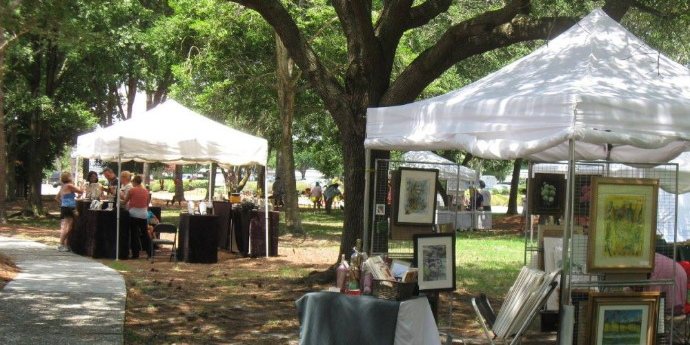 Chapin Park's Art in the Park - Celebrate with these spring events while on Vacation at Plantation Resort in Myrtle Beach!