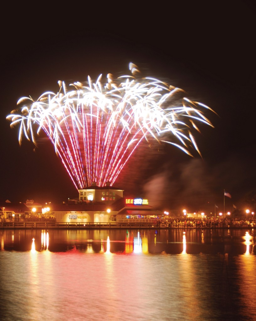 Enjoy fireworks during your Myrtle Beach vacation on July 4th while staying at Plantation Resort!