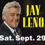 Events in Myrtle Beach for September 2018 to help plan your perfect Myrtle Beach vacation at Plantation Resort - Laught with Jay Leno at Alabama Theatre