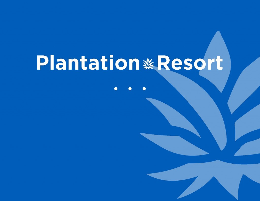 new Plantation Resort logo for 2018. Our new logo represents Southern Hospitality at Its Finest during your Myrtle Beach Vacation at Plantation Resort.