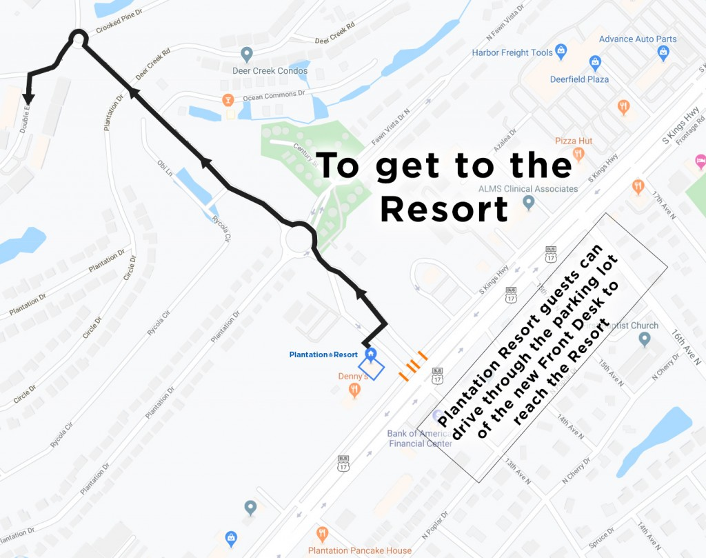 How to get to the Resort2
