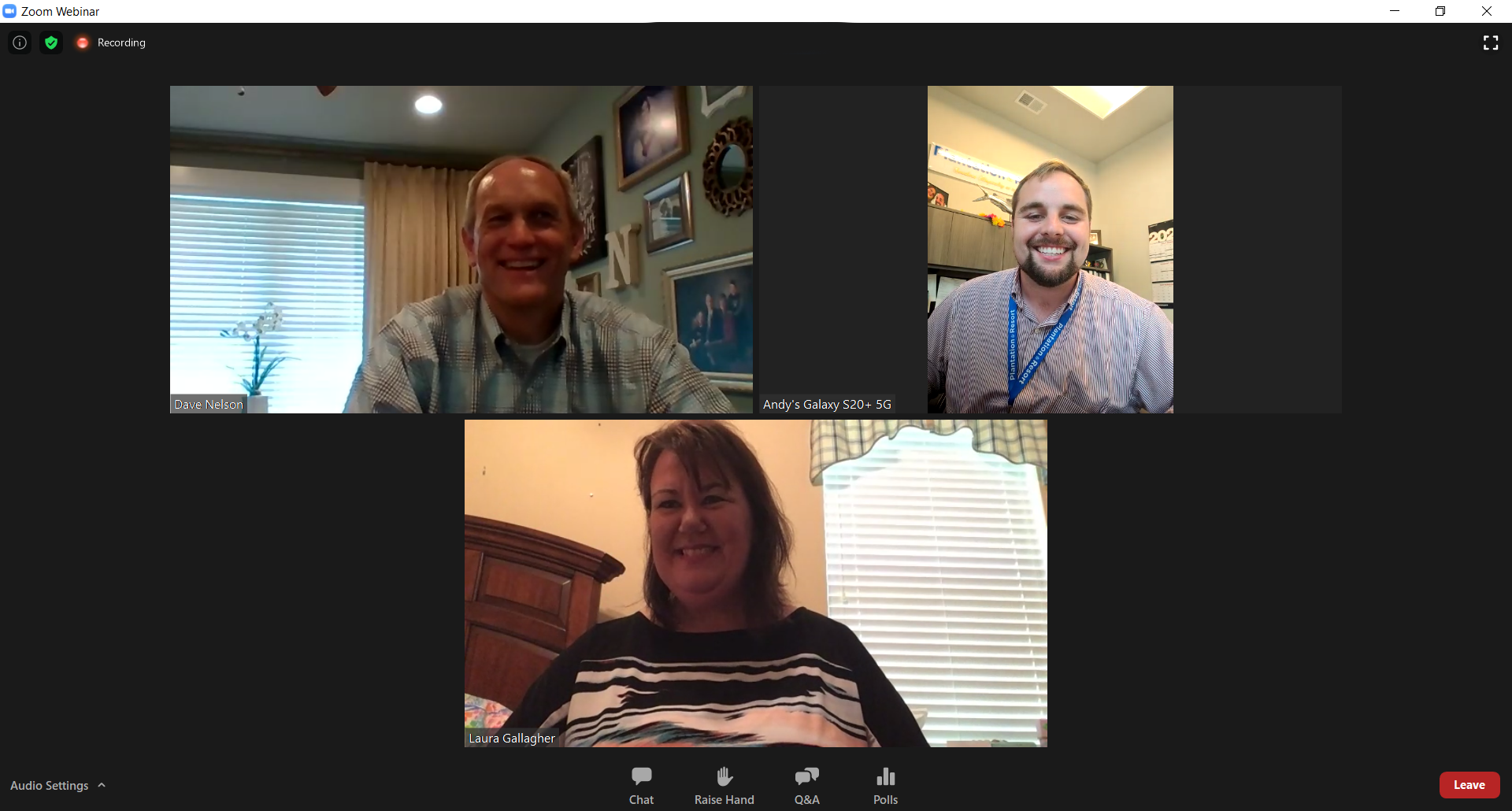 Join Plantation Resort's annual meeting online via Zoom.