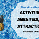 Activities, Amenities, and Attractions – 2021 Beginnings