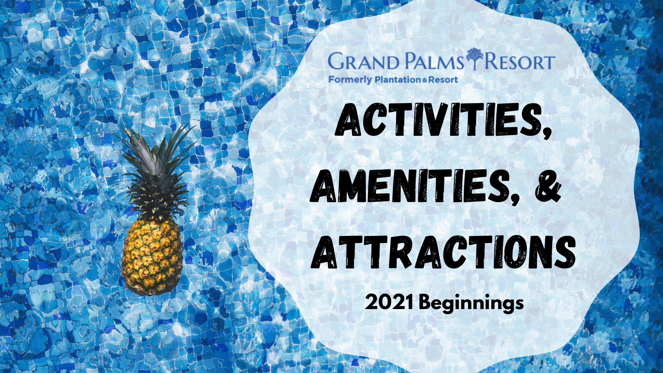 Enjoy activities, amenities, and attractions during your Myrtle Beach vacation at Grand Palms Resort formerly Plantation Resort.