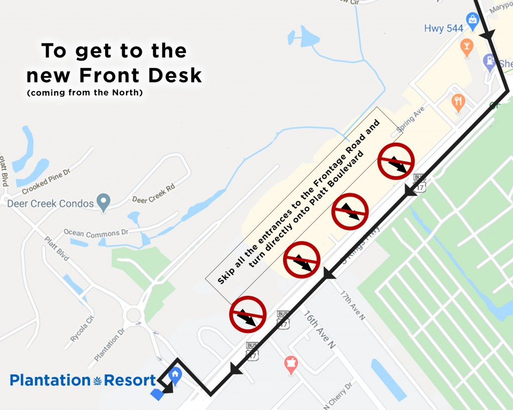 How to get to Front Desk2_from north